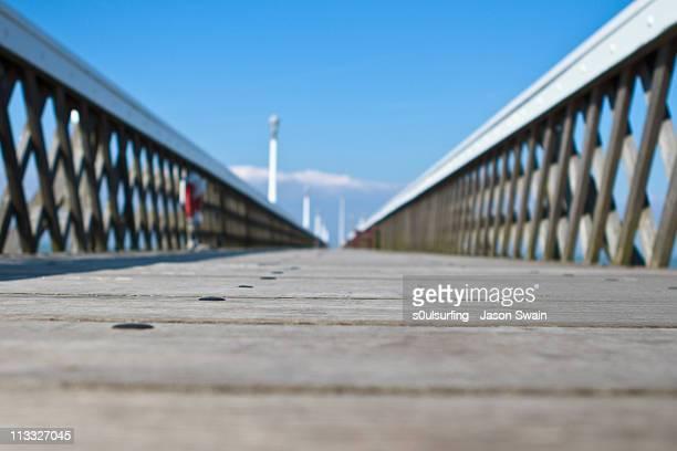wooden pier,  yarmouth - s0ulsurfing - fotografias e filmes do acervo