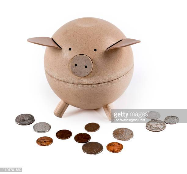 Wooden Piggy Bank from Anthropologie one of the items for the Post's annual gift guide on October 2017 in Washington DC