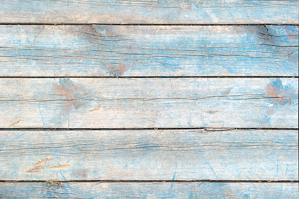 Tablecloth On Wooden Table Plank Texture As Background