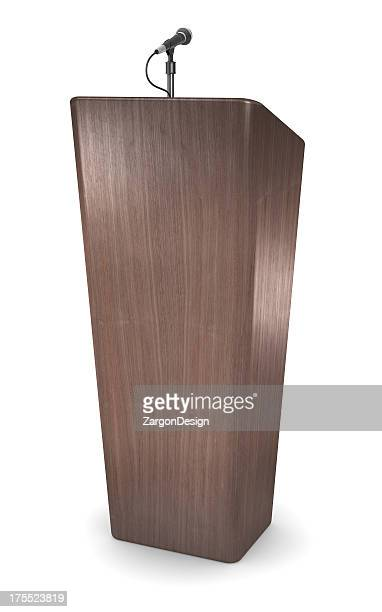 "Hölzerne ""podium"""