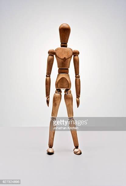 wooden posing doll