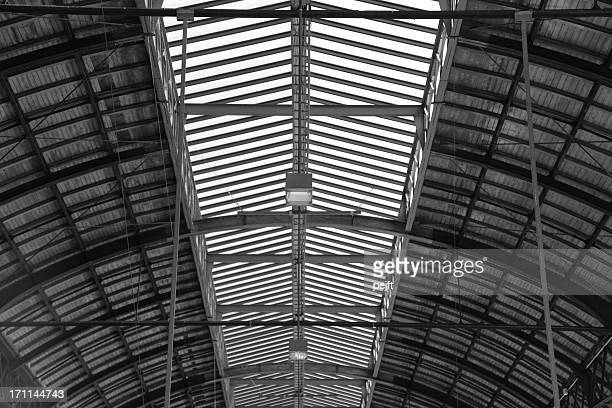 wooden roof of a vault - pejft stock pictures, royalty-free photos & images