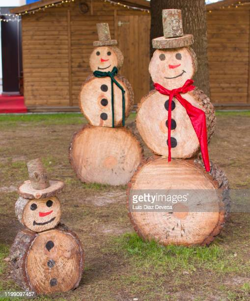 wooden santa claus decorating - 2020 2029 stock pictures, royalty-free photos & images