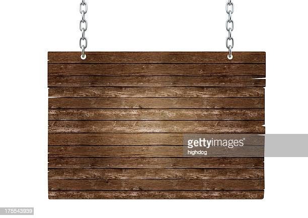 wooden signboard - hanging stock pictures, royalty-free photos & images