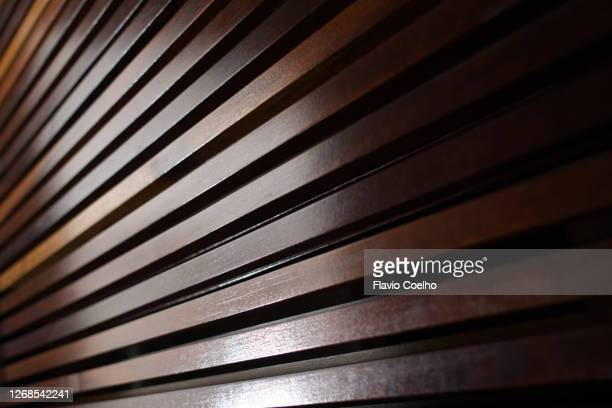 wooden slats background texture - architectural feature stock pictures, royalty-free photos & images