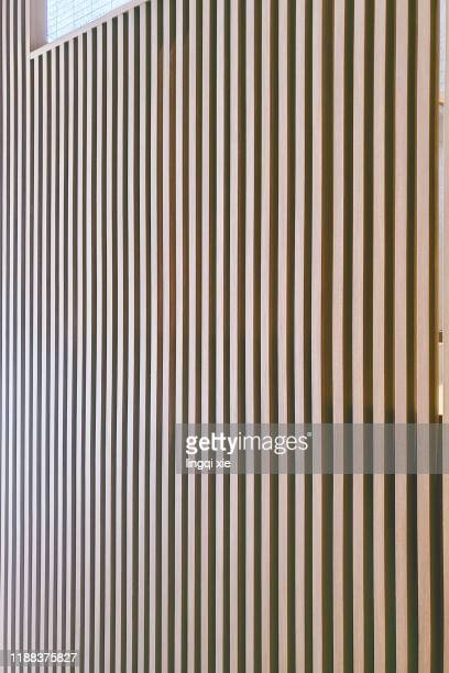 wooden striped wall - ribbed stock pictures, royalty-free photos & images
