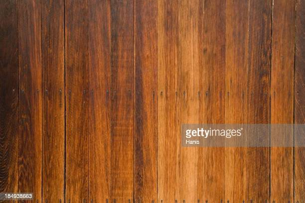 A wooden surface A wooden wall A table