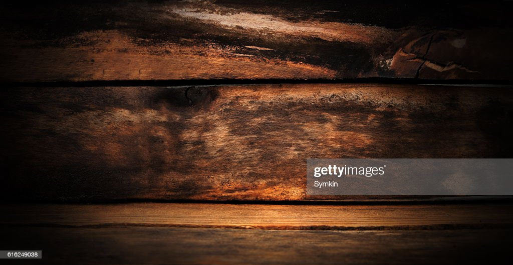 Wooden texture. Wet after the rain : Stock Photo