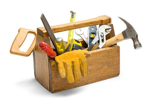 Wooden Tool Box 902084064