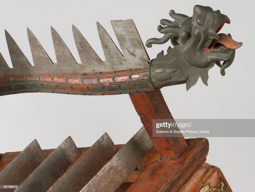 Wooden torture chair with 12 steel blades, Chinese, 1701-1900. : News