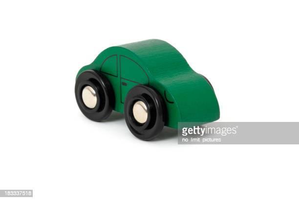 Coche de juguete de madera