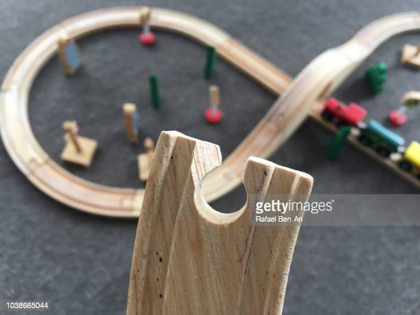 Wooden Toy Tain Railways Track