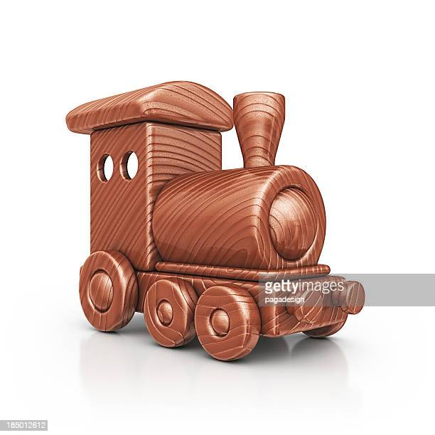 wooden train - clip art stock pictures, royalty-free photos & images