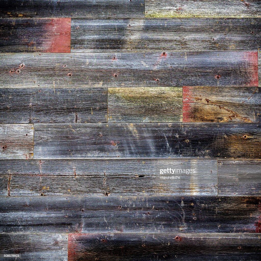 Wooden wall background board : Stockfoto
