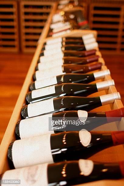 Wooden Wine Rack - Bottles on Side