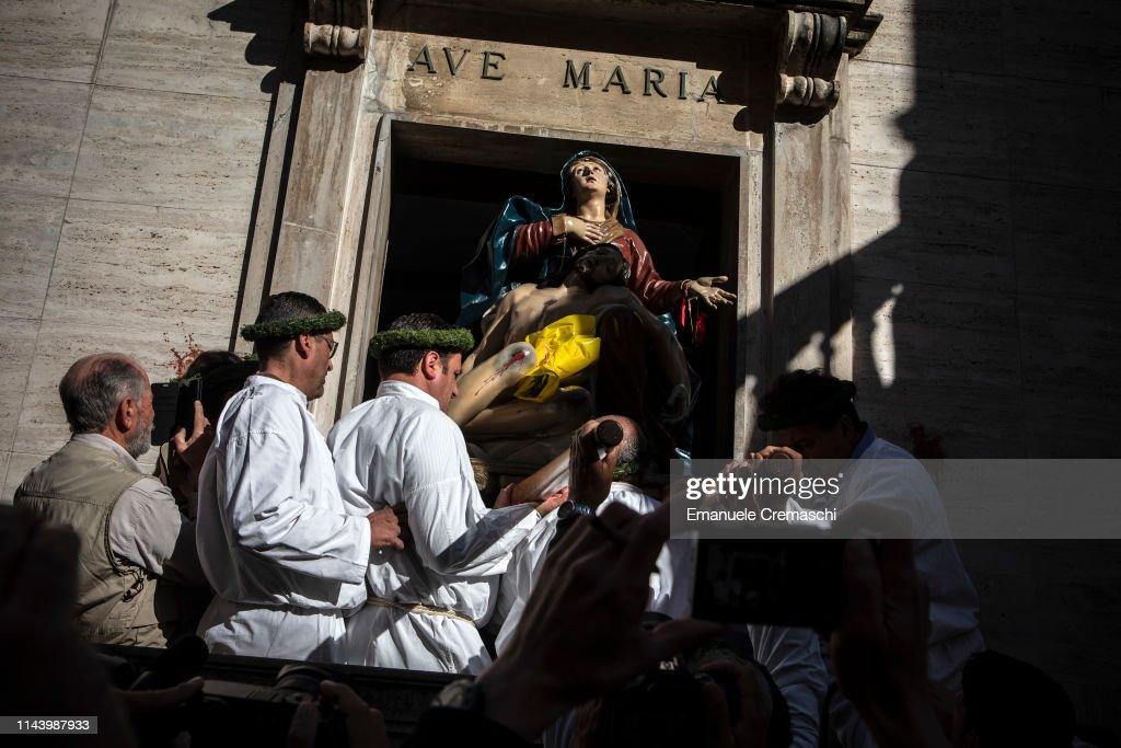 ITA: Rite Of Vattienti Takes Place In Nocera Terinese