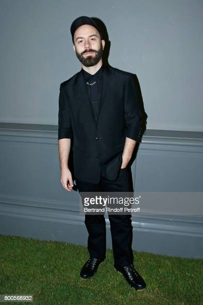 Woodkid attends the Dior Homme Menswear Spring/Summer 2018 show as part of Paris Fashion Week on June 24 2017 in Paris France