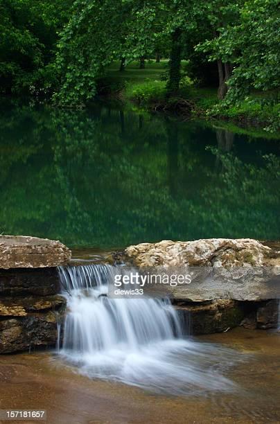 Woodland Pool, Waterfall
