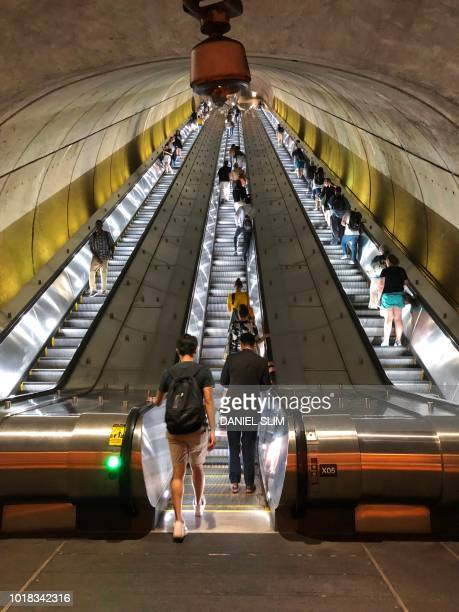 Woodley ParkZoo / Adams Morgan Metro Station in Washington DC August 17 2018