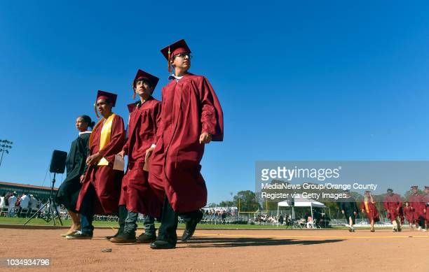 Woodrow Wilson High class of 2016 graduation in Long Beach, CA on Thursday, June 16, 2016. 867 seniors received their diploma in the schools 89th...