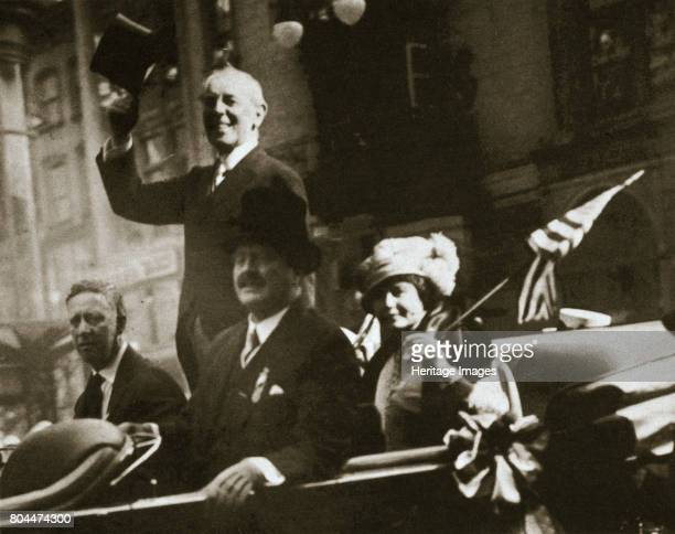 president wilson and the treaty of The versailles treaty of 1919 the treaty of versailles formally this was mainly agreed to by britain and france in order to placate president wilson and.
