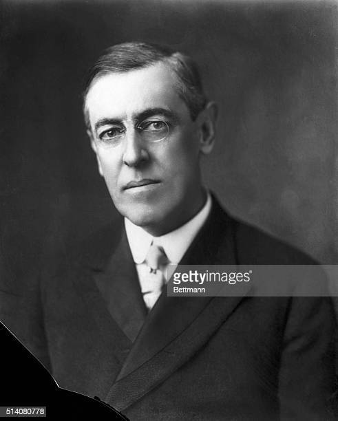 Woodrow Wilson twentyeighth President of the U S Undated photograph