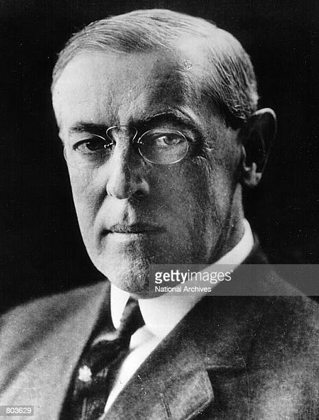 Woodrow Wilson twentyeighth President of the United States serving from 1913 to 1921