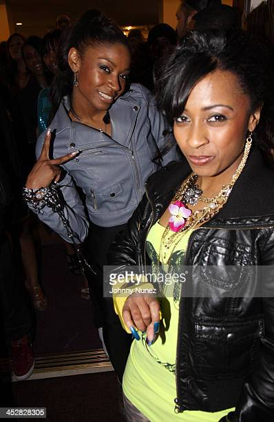 D Woods and guest attend Cash Money's PreGrammy Party Honoring Lil Wayne at the Montage Hotel on February 7 2009 in Los Angeles California