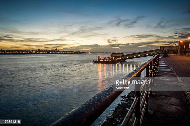 woodside dawn - birkenhead stock pictures, royalty-free photos & images