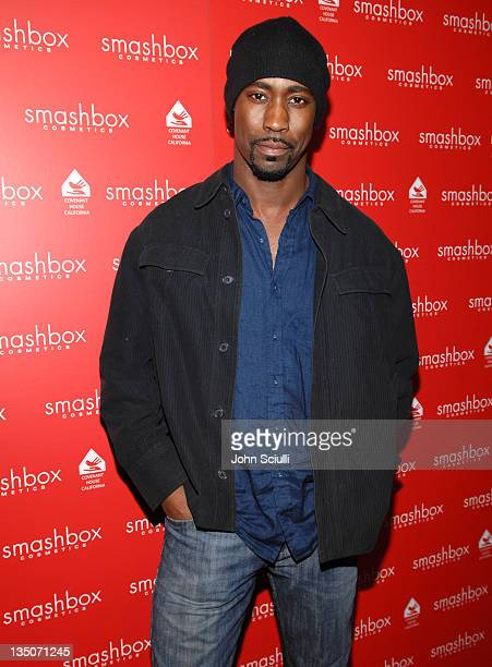 DB Woodside during Smashbox Cosmetics Celebrate the Holidays and Brent Bolthouse's Birthday at Area in Los Angeles California United States