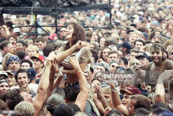 Woman Taking Shirt Off At Woodstock 94 Pictures  Getty -2456