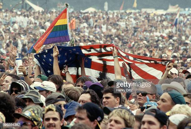 Woodstock '94 is a music festival taking its inspiration from the Woodstock Music and Arts Fair 1969