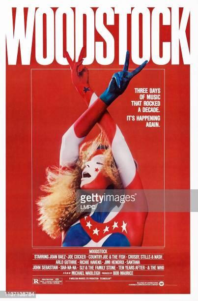 Woodstock poster US poster art 1970
