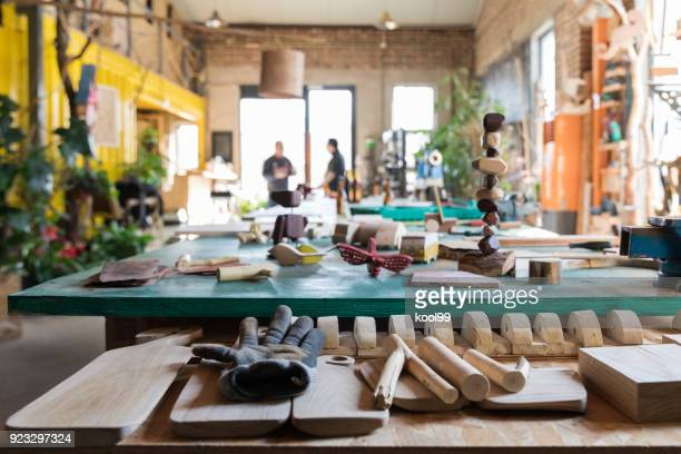 woodworking workshop - wide stock pictures, royalty-free photos & images