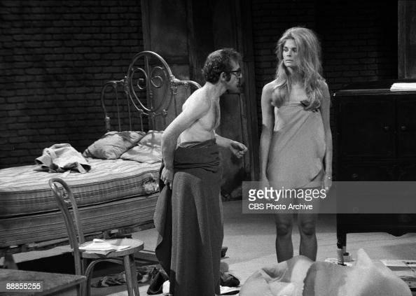 foto de Woody Allen and Candice Bergen on 'The Woody Allen Special