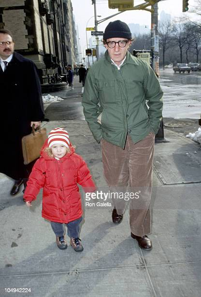 Woody Allen and daughter Dylan O'Sullivan Farrow