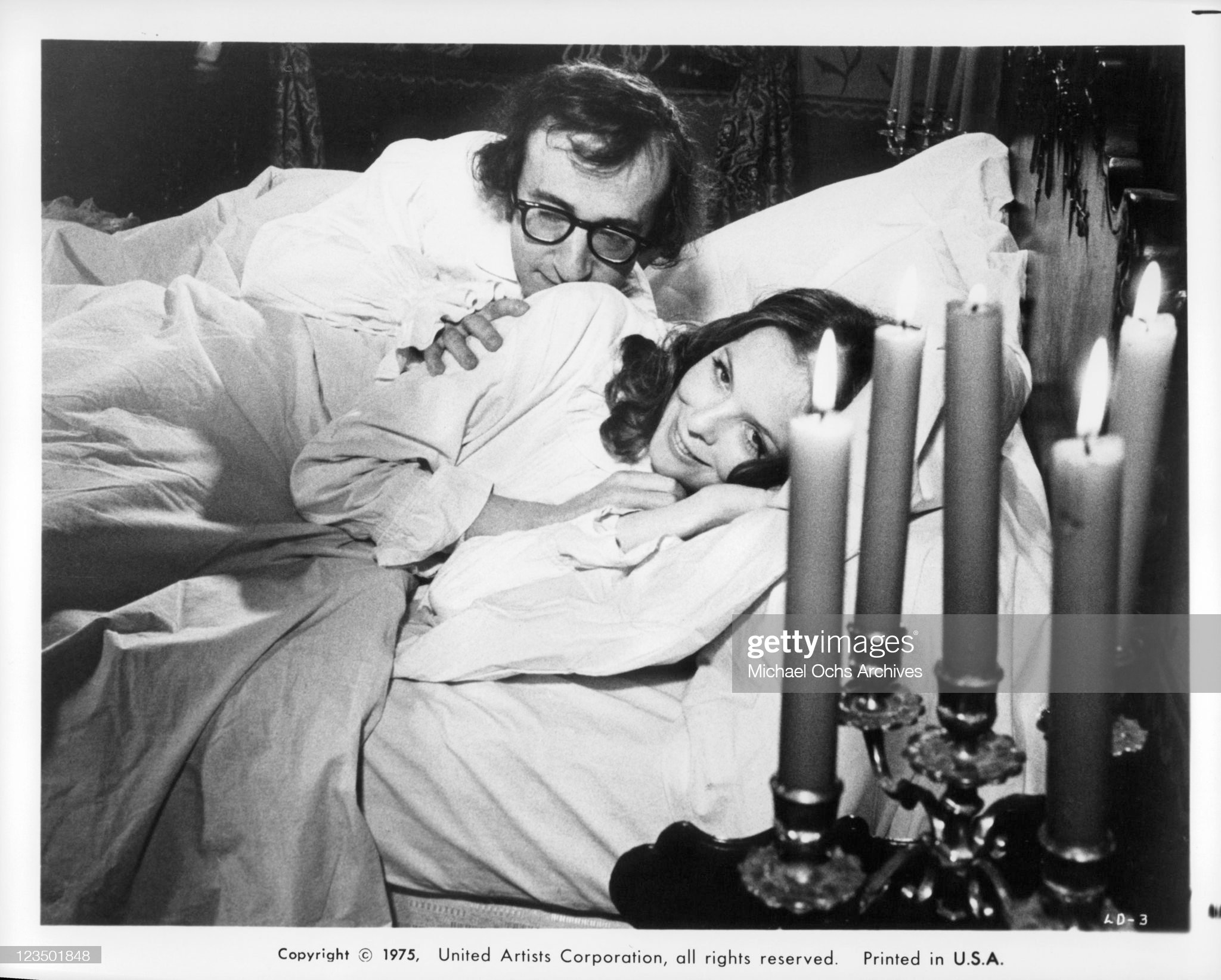 Woody Allen And Diane Keaton In 'Love And Death' : News Photo