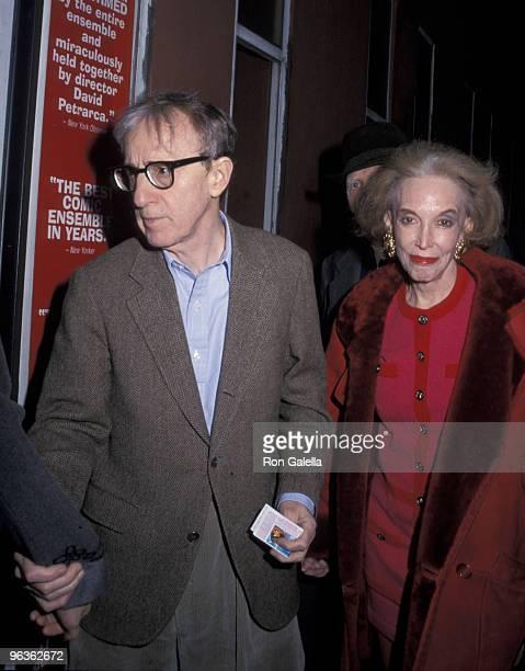 Woody Allen and Helen Gurley Brown