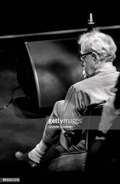 Woody Allen and his New Orleans Jazz Band perform on stage at The Royal Albert Hall on July 2 2017 in London England