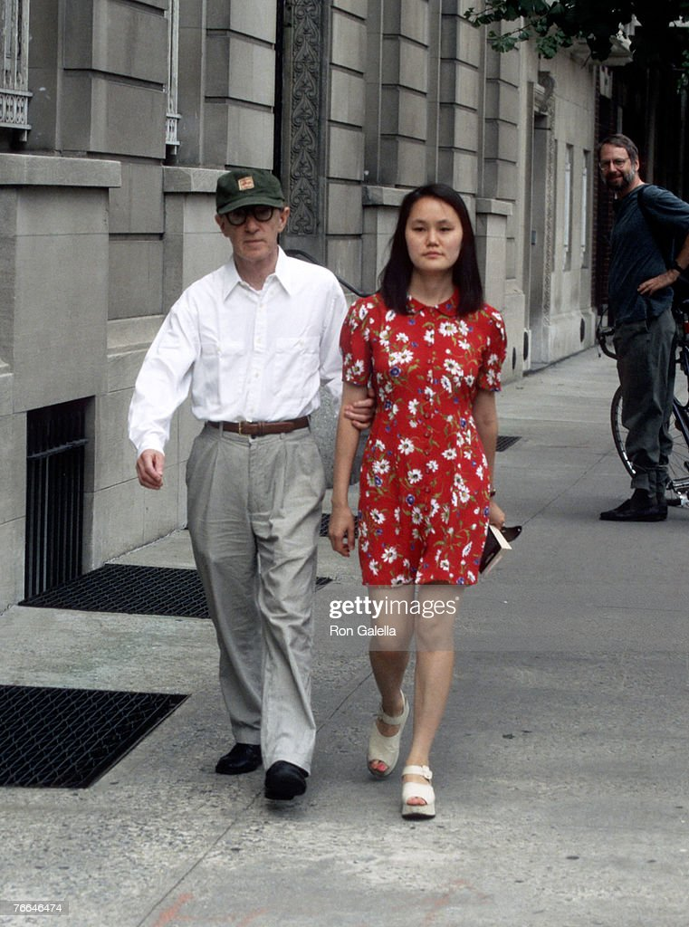 Woody Allen and Soon Yi Previn