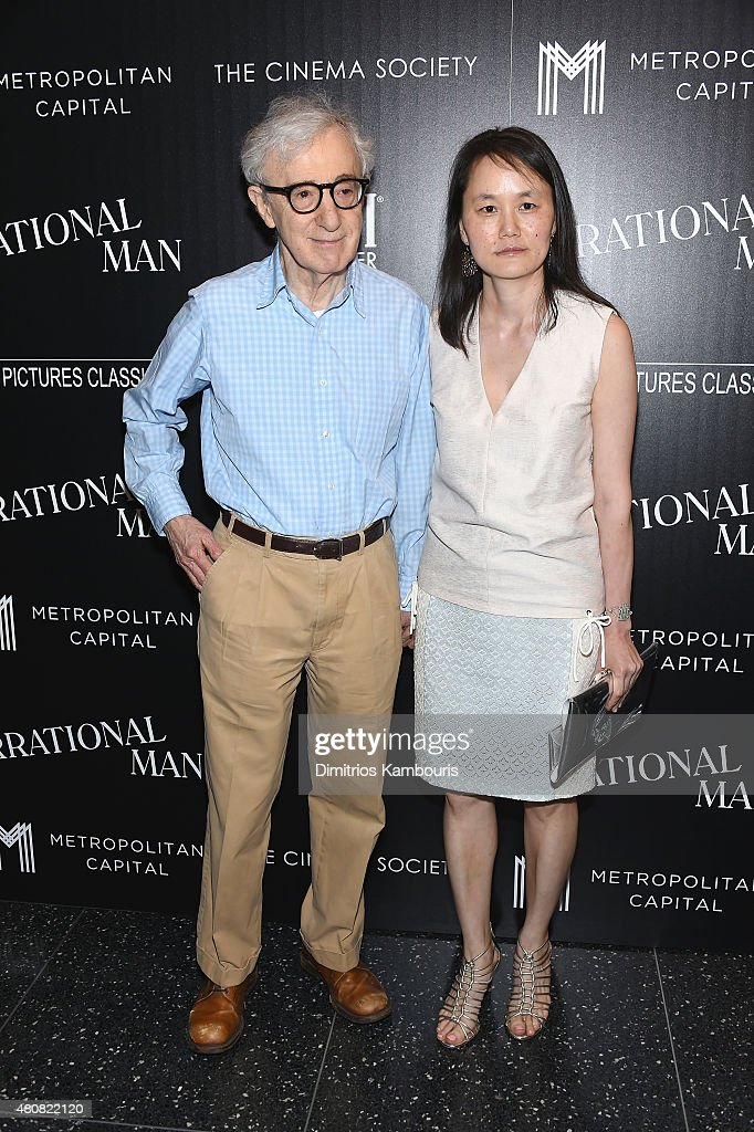 Woody Allen and Soon-Yi Previn attend Sony Pictures Classics 'Irrational Man' premiere hosted by Fiji Water, Metropolitan Capital Bank and The Cinema Society on July 15, 2015 in New York City.