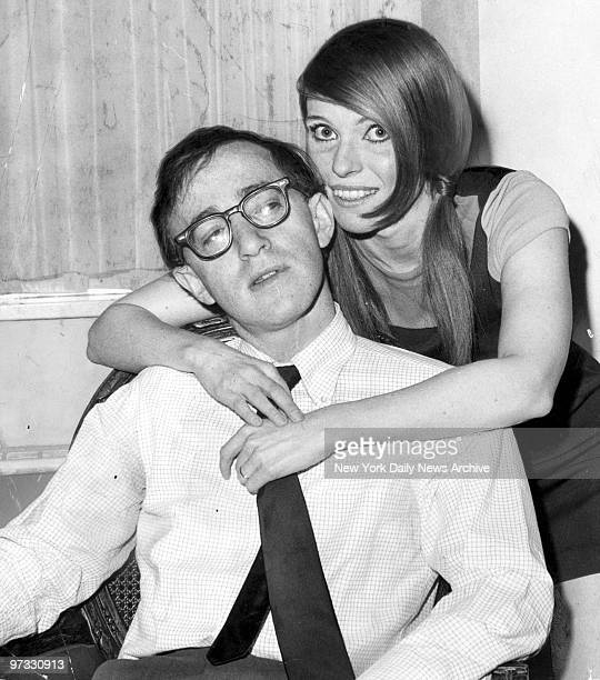 Woody Allen and wife Louise Lasser