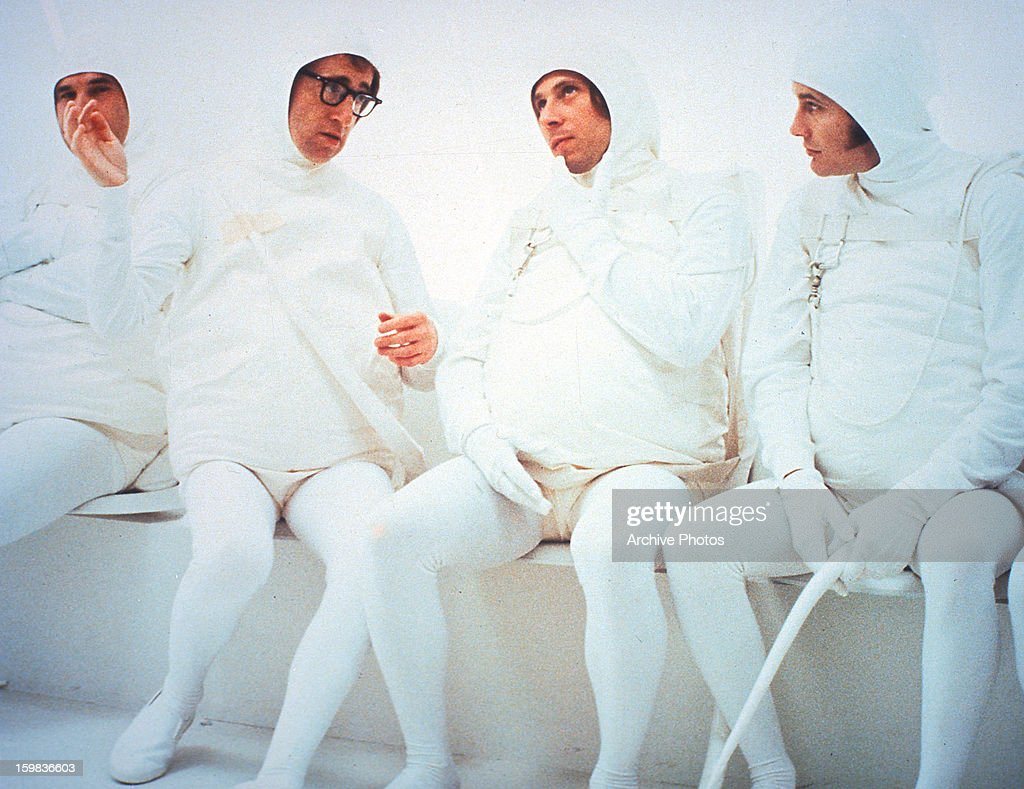 Woody Allen as a sperm in a scene from the film 'Every Thing You Always Wanted To Know About Sex * But Were Afraid To Ask', 1972.