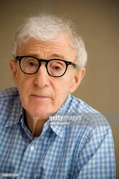 Woody Allen at the 'Cafe Society' Press Conference at the Conrad Hotel on July 11 2016 in New York City