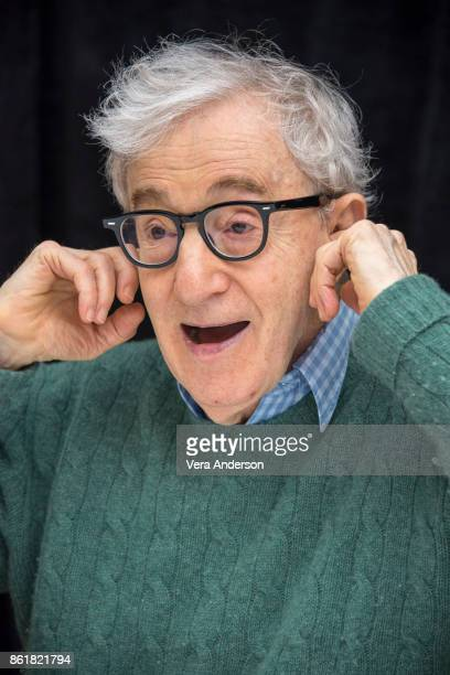 Woody Allen at the Wonder Wheel Press Conference at the RitzCarlton Hotel on October 14 2017 in New York City
