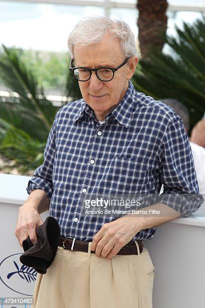 """Woody Allen attends the """"Irrational Man"""" photocall during the 68th annual Cannes Film Festival on May 15, 2015 in Cannes, France."""