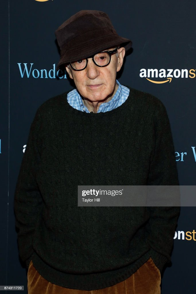 Woody Allen attends the premiere of 'Wonder Wheel' at Museum of Modern Art on November 14, 2017 in New York City.