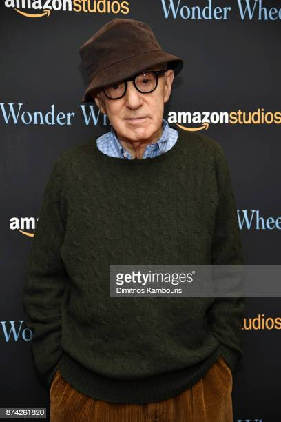 Woody Allen attends the 'Wonder Wheel' screening at Museum of Modern Art on November 14 2017 in New York City