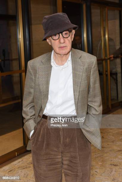 Woody Allen attends Youth America Grand Prix's 2017 Stars of Today Meet the Stars of Tomorrow Gala at David H Koch Theater Lincoln Center on April 13...