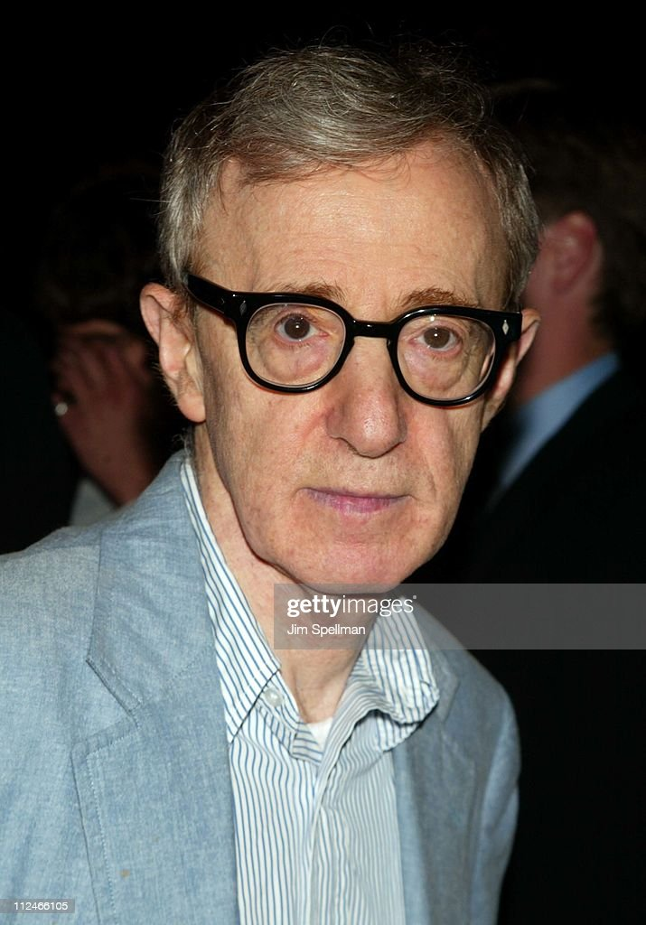 Woody Allen during New York City Special Screening of 'Anything Else' at Paris Theatre in New York City, New York, United States.